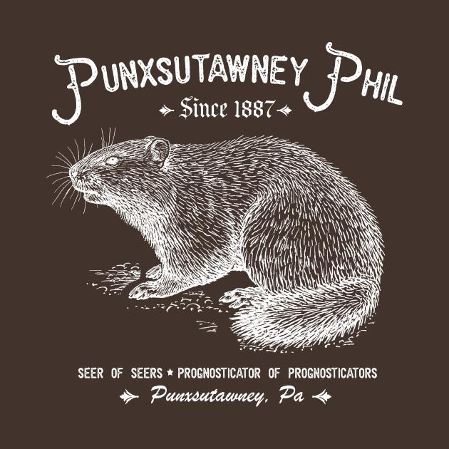 TeePublic: Punxatawney Phil