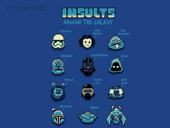 Woot!: Insults Around The Galaxy