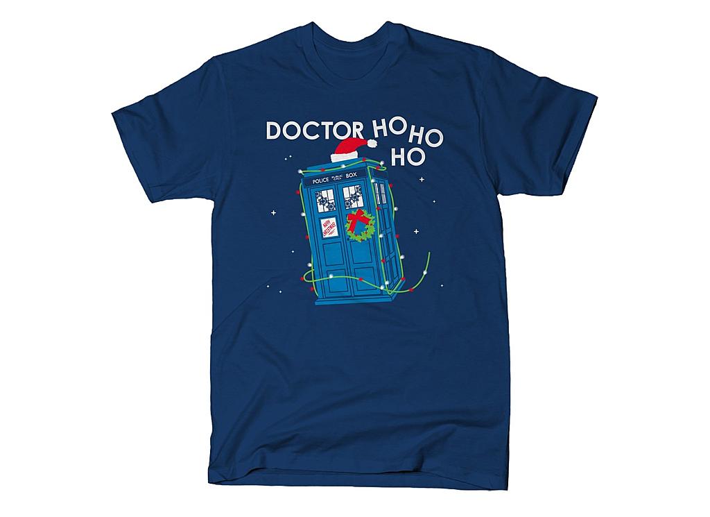 SnorgTees: Doctor Ho Ho Ho