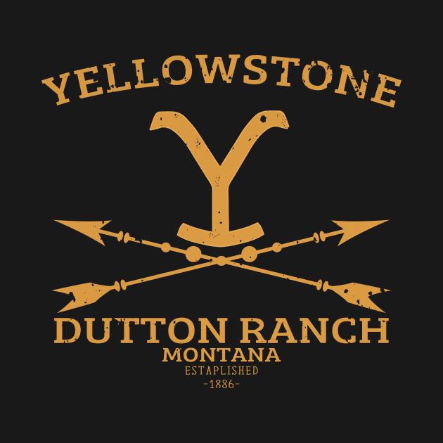 TeePublic: Yellowstone Dutton Ranch Arrows