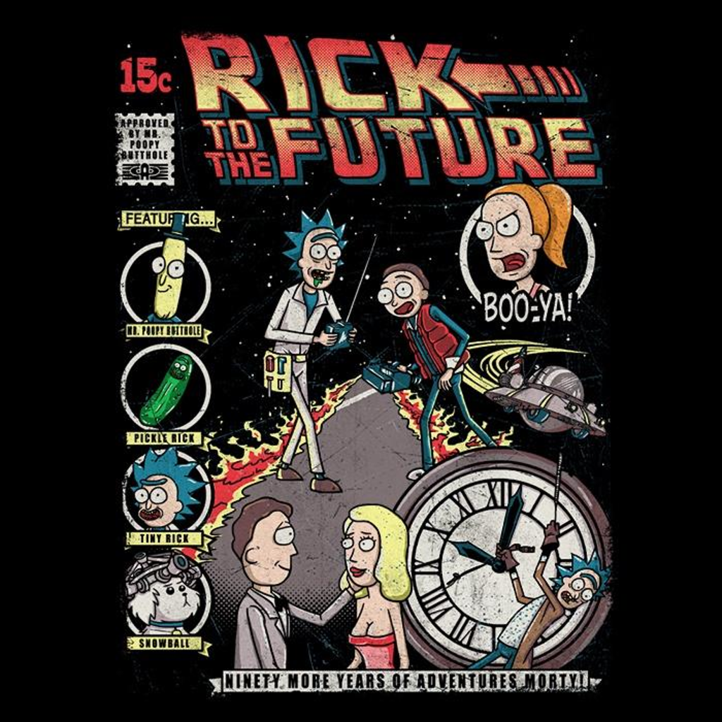 Once Upon a Tee: Rick to the Future