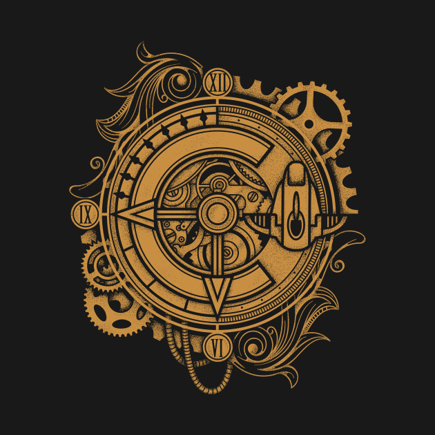 TeePublic: Chrono Trigger Clock Epoch