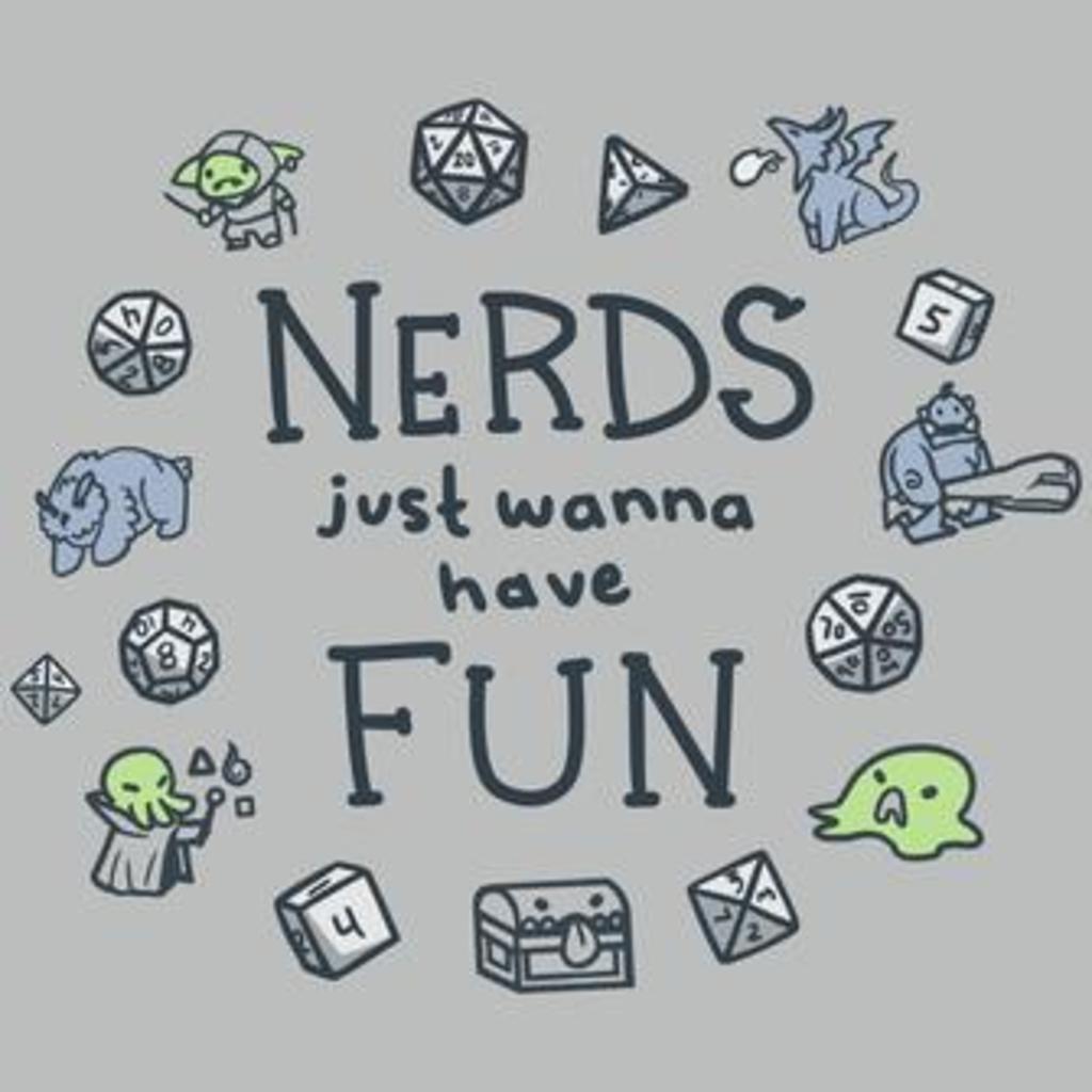 TeeTurtle: Nerds Just Wanna Have Fun