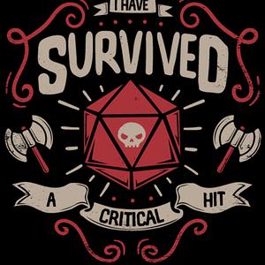 Qwertee: Critical hit Survivor