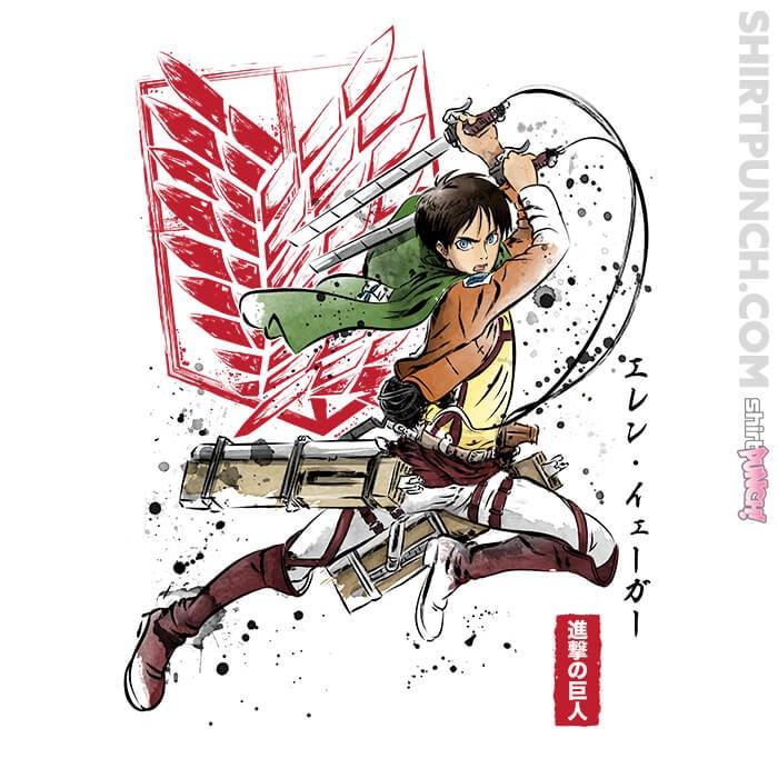 ShirtPunch: Soldier Eren