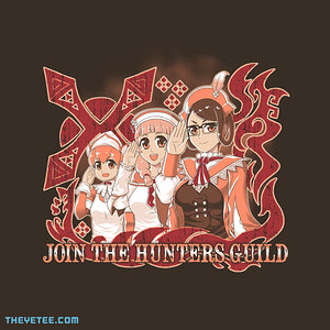 The Yetee: Join the hunters guild!