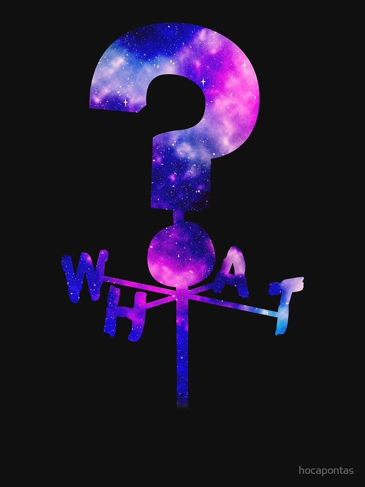 RedBubble: The Mystery Shack Question Mark Weathervane