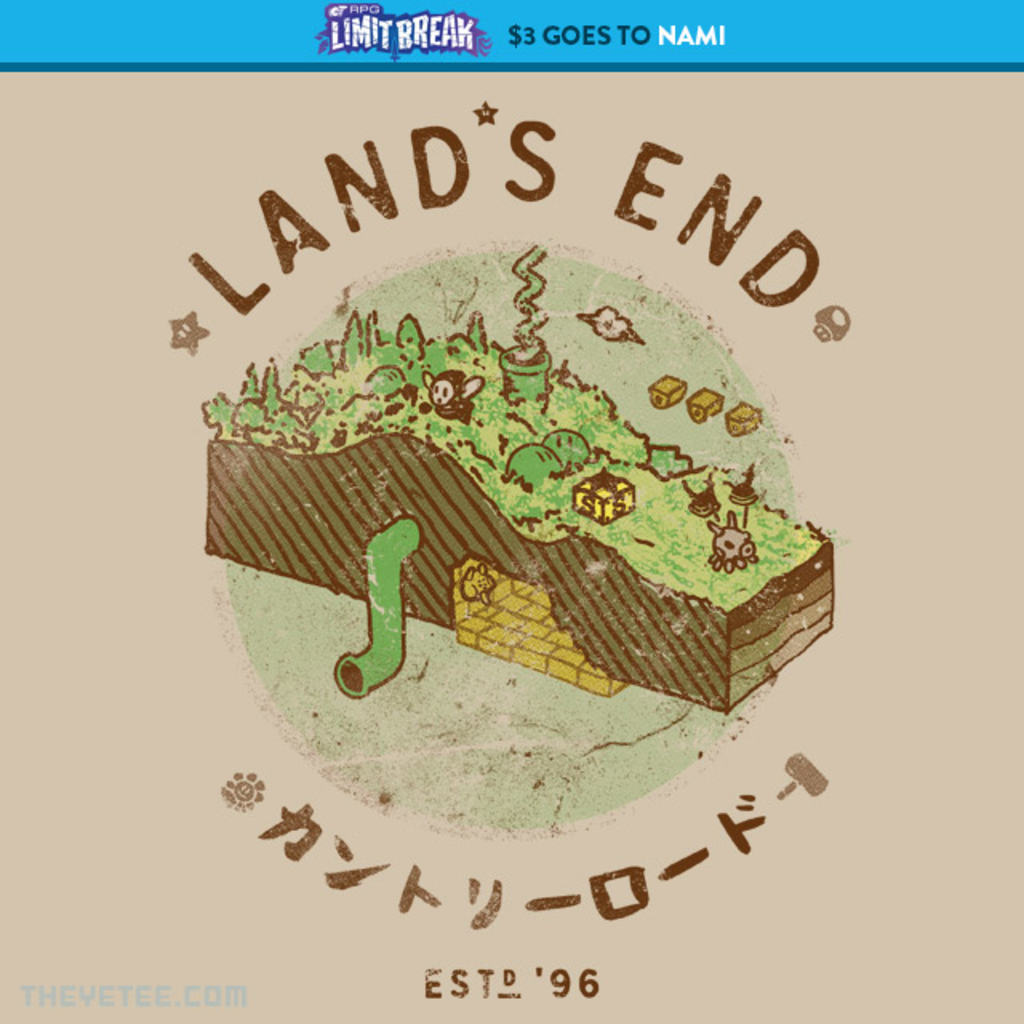 The Yetee: Vintage Land's End