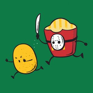 BustedTees: French Fried Jason