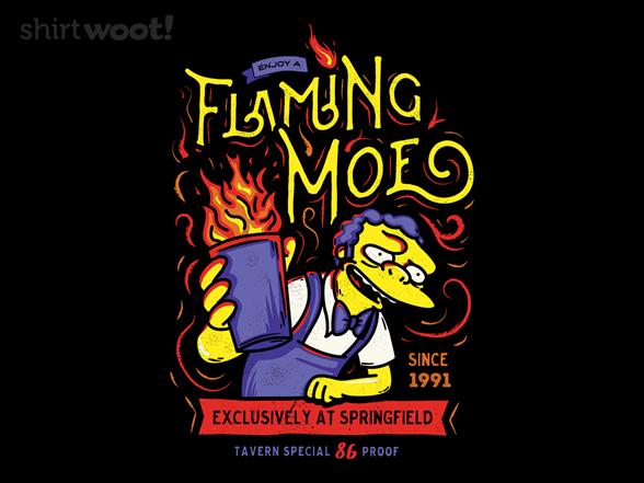 Woot!: Flaming Moe