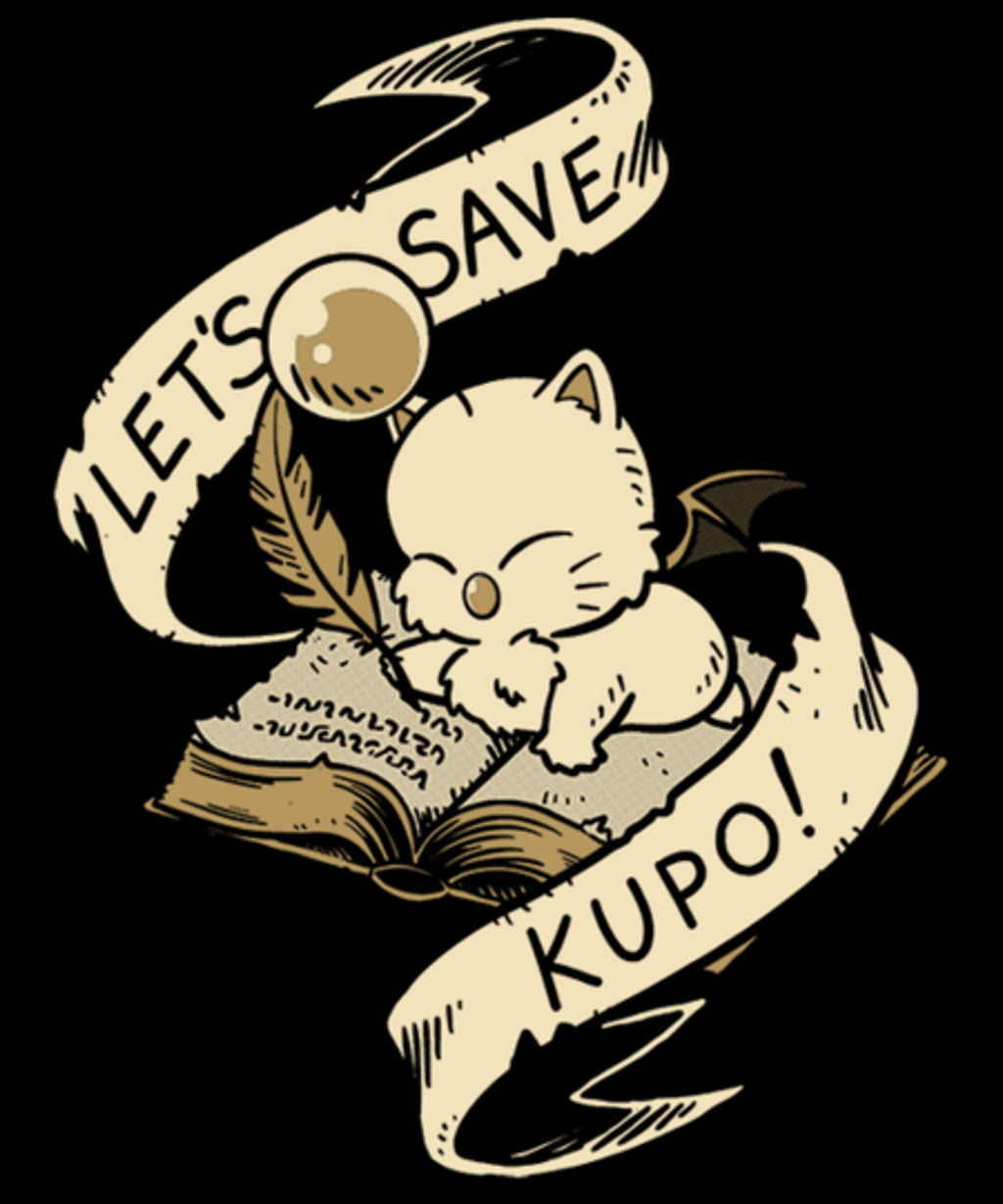 Qwertee: Let's save kupo!