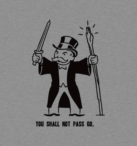 BustedTees: You Shall Not Pass Go