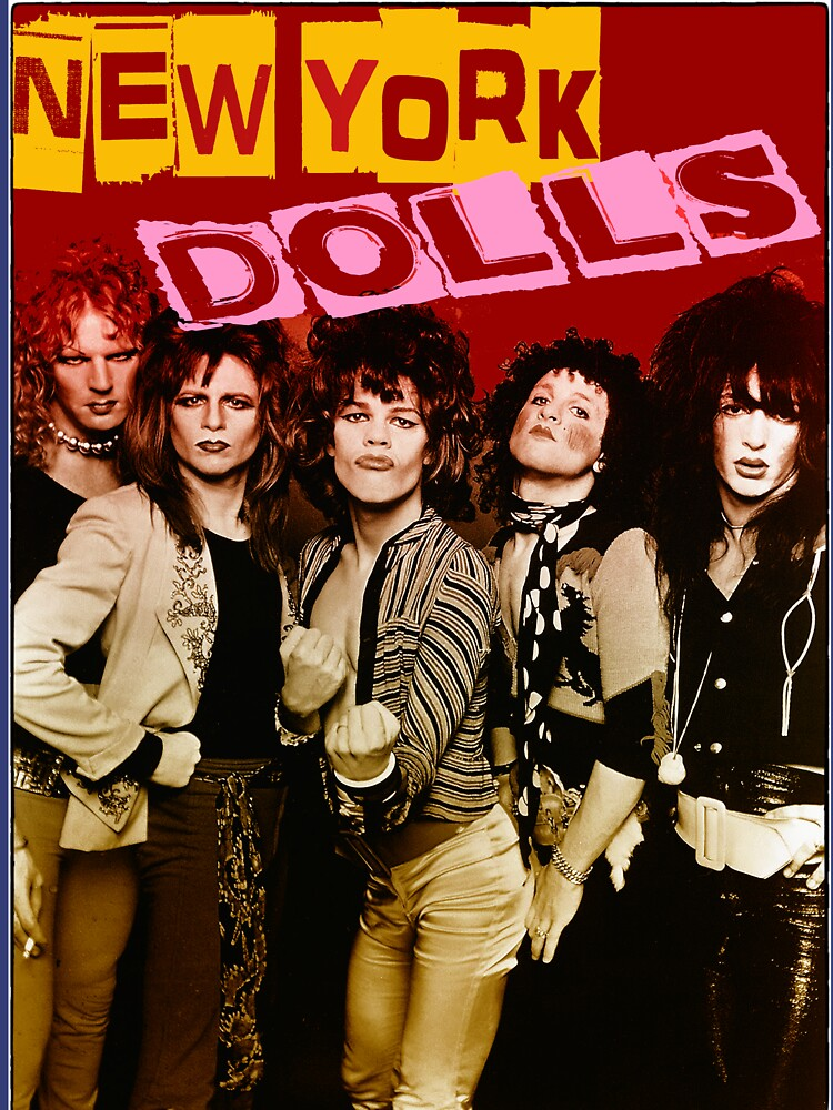 RedBubble: New York Dolls