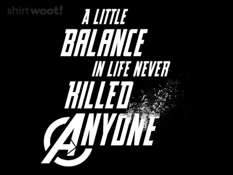Woot!: A Little Balance