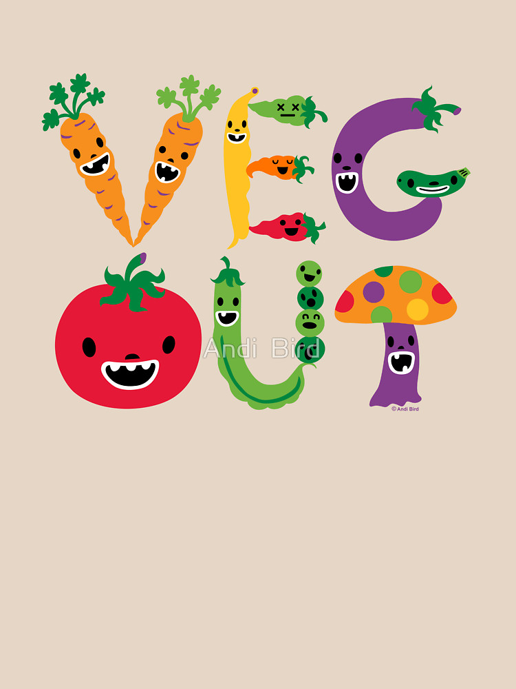 RedBubble: Veg Out - maize