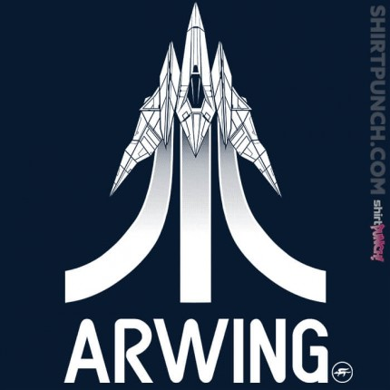 ShirtPunch: Arwing