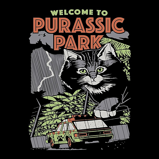 BustedTees: Purassic Park