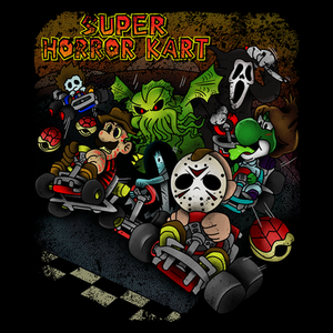 Pop-Up Tee: Mario Horror