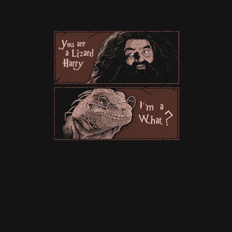 TeeFury: Lizard Harry