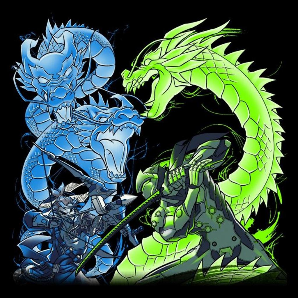 Once Upon a Tee: Dragon Bros
