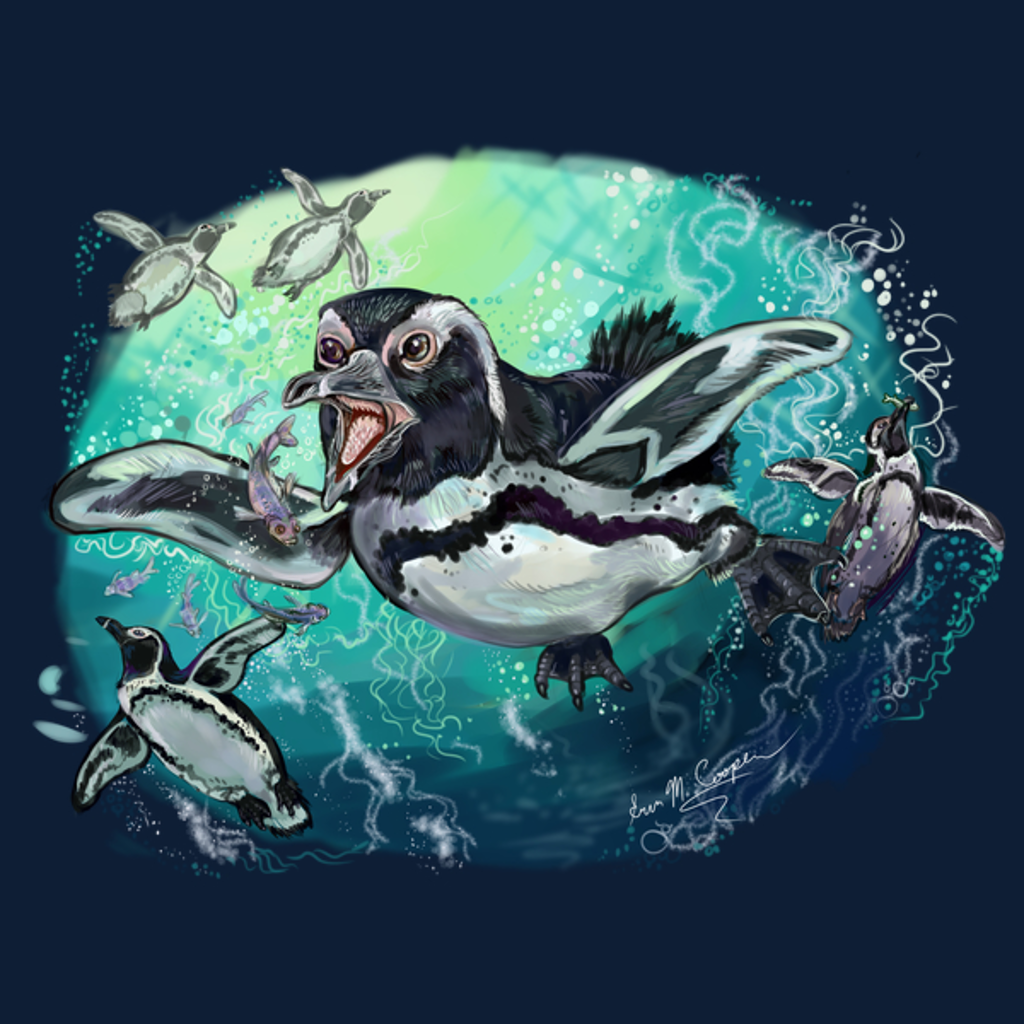 NeatoShop: African Penguin Fishy Feast