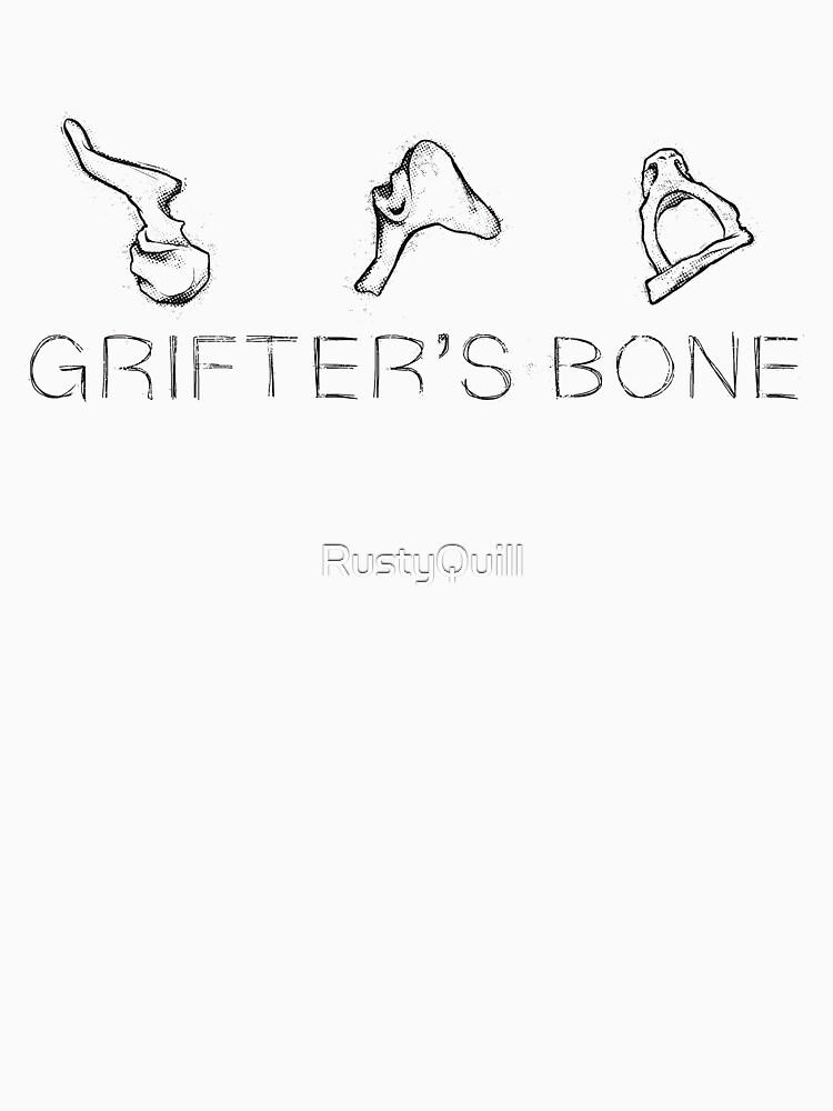 RedBubble: Grifter's Bone - Dark Logo