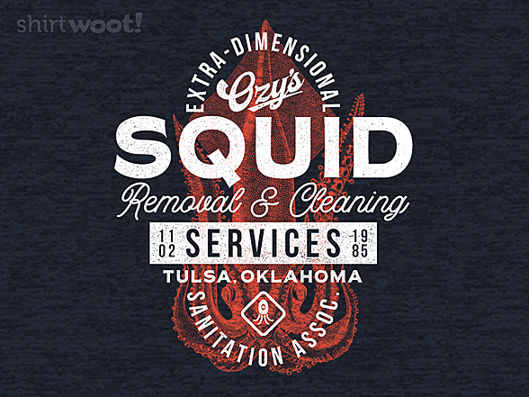 Woot!: Ozy's Squid Cleaning
