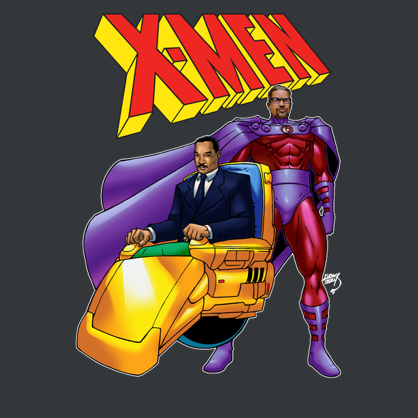 NeatoShop: Malcom X and Martin Luther King Jr as Mutants