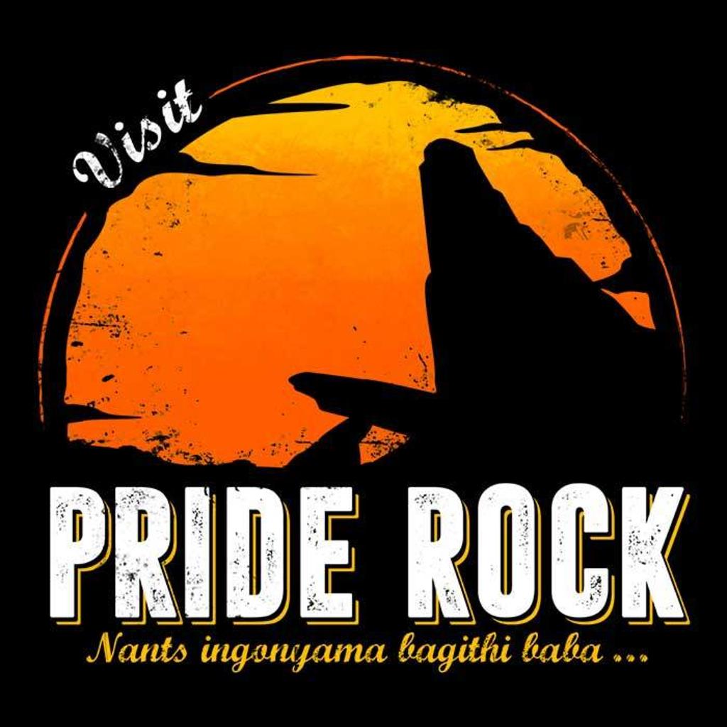 Once Upon a Tee: Visit Pride Rock