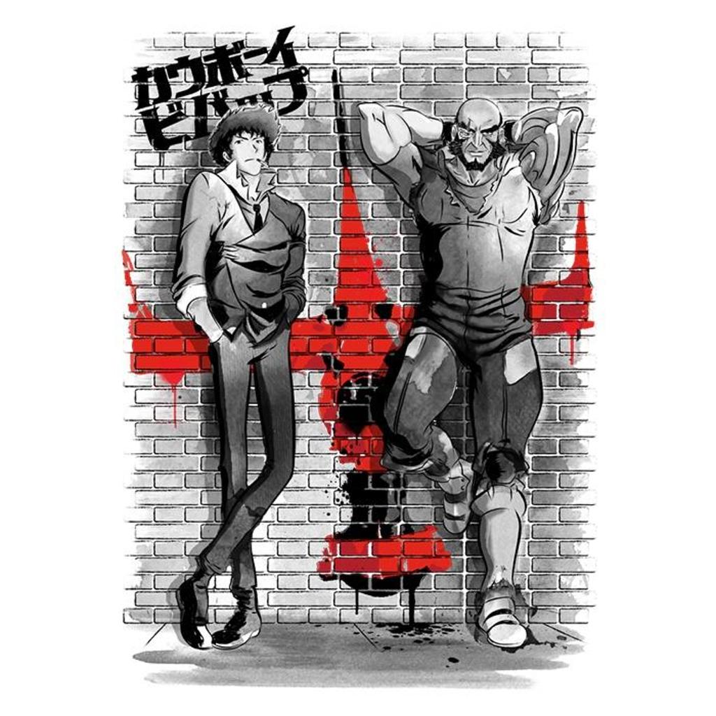 Once Upon a Tee: Graffiti Bounty Hunters
