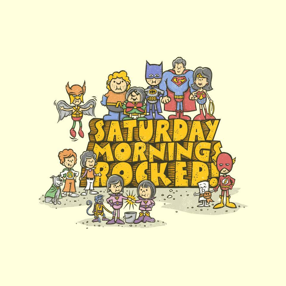 TeeFury: Saturday Mornings Rocked!