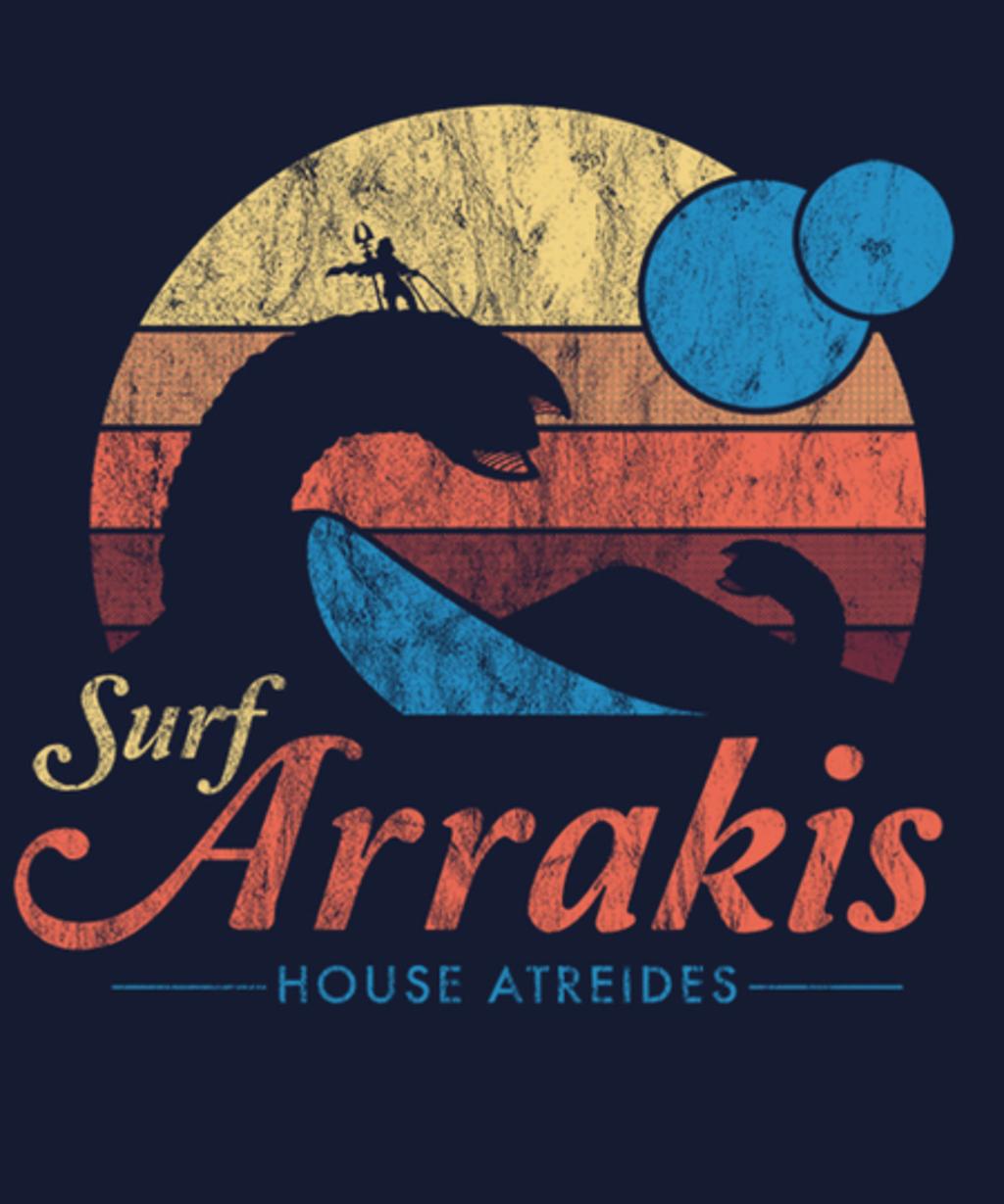 Qwertee: Visit Arrakis