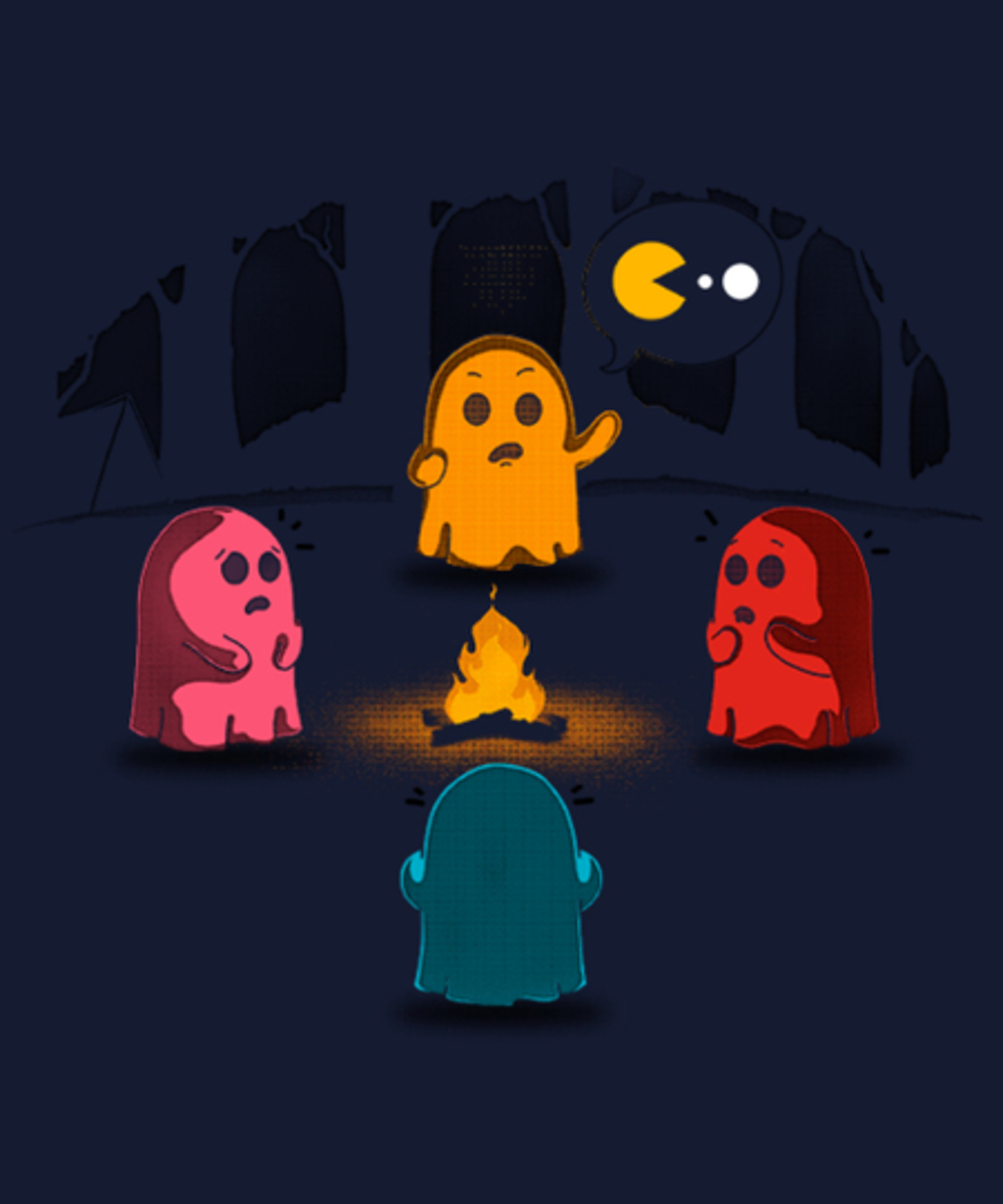 Qwertee: Ghost stories