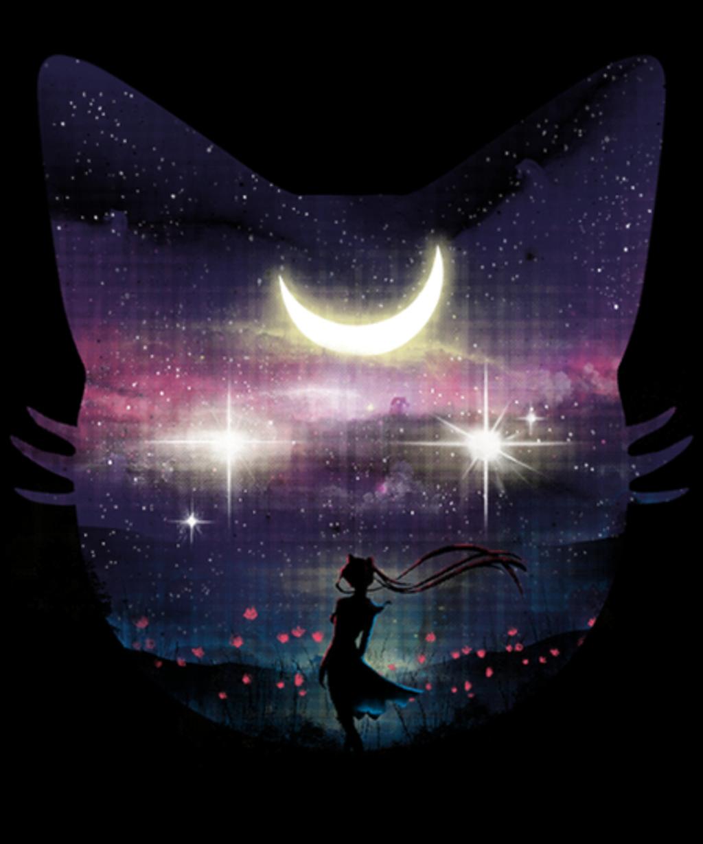 Qwertee: Beautiful Moonlight