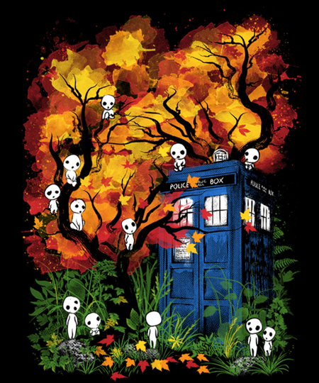 Qwertee: The Doctor in the Forest