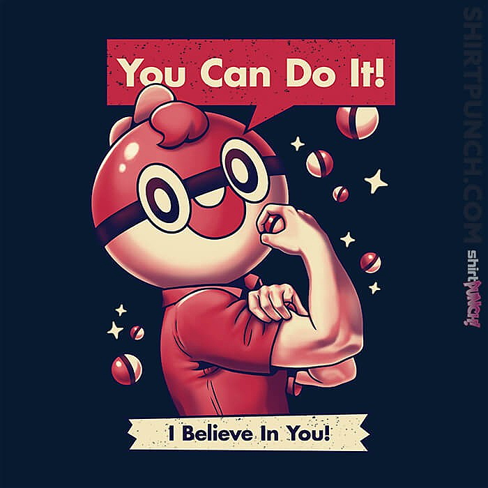 ShirtPunch: I Believe In You