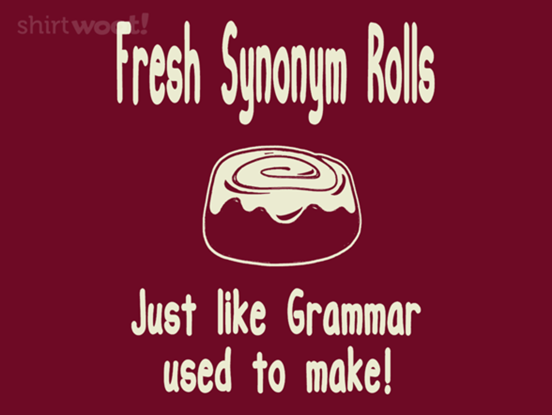 Woot!: Synonym Rolls