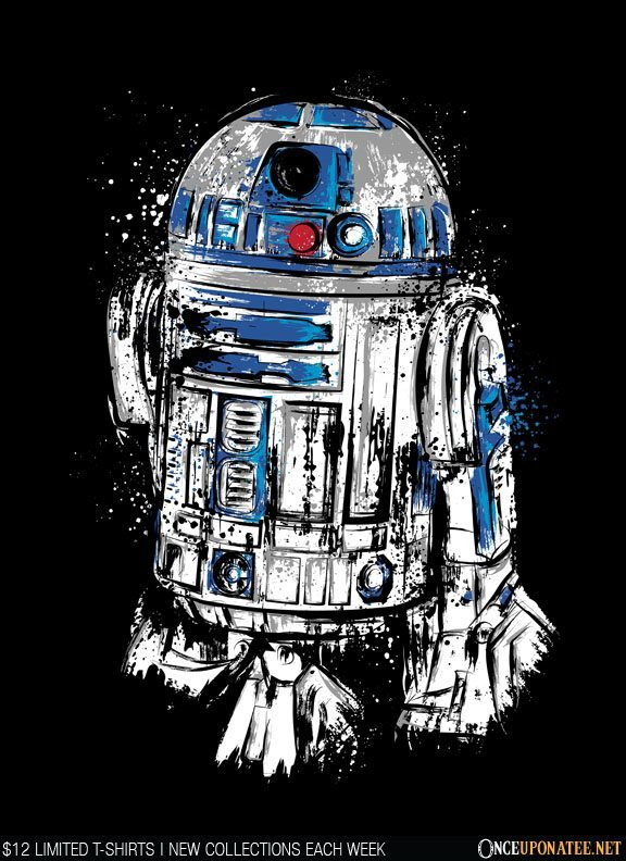 Once Upon a Tee: More Than a Droid