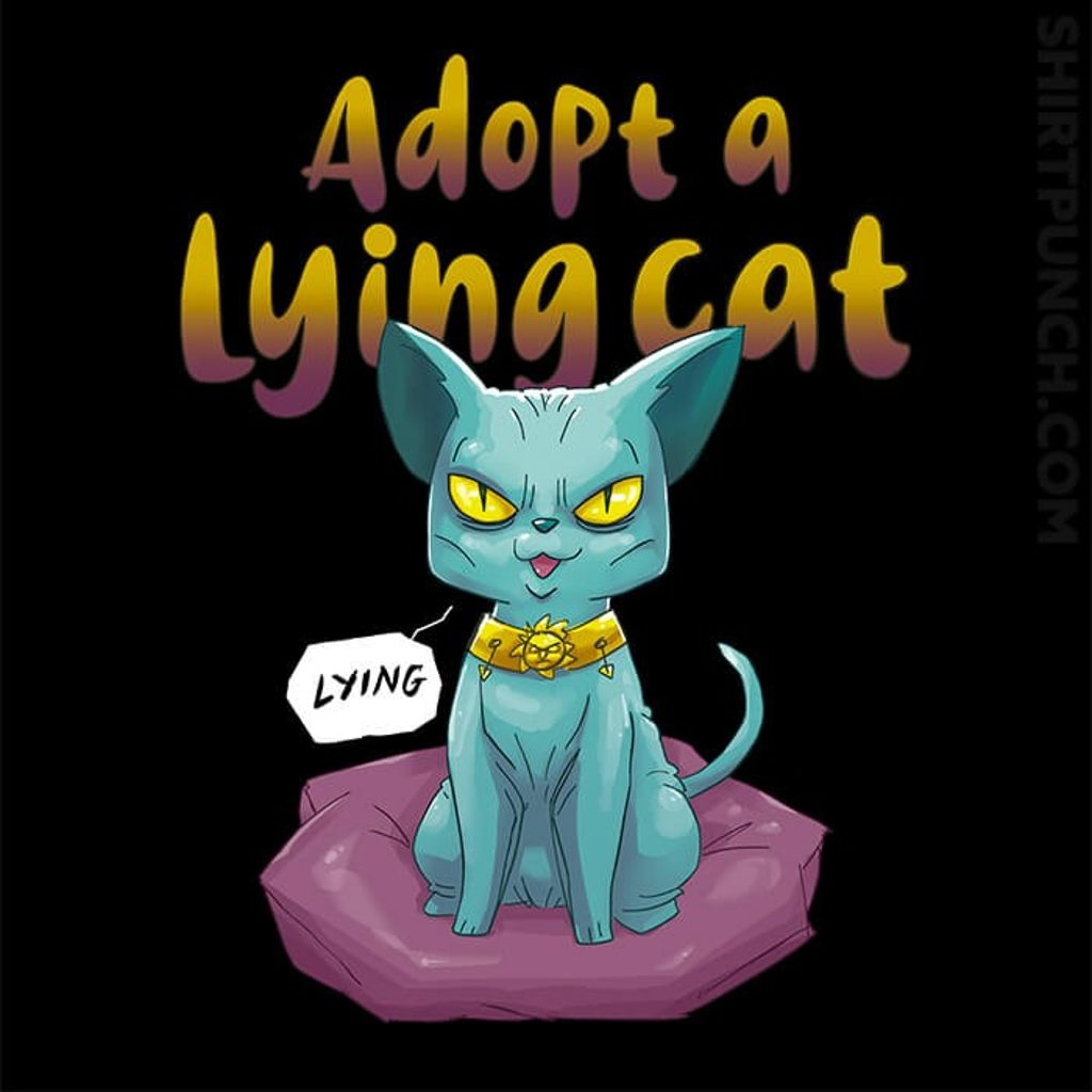 ShirtPunch: Adopt A Lying Cat