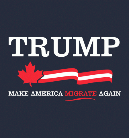 BustedTees: Make America Migrate Again