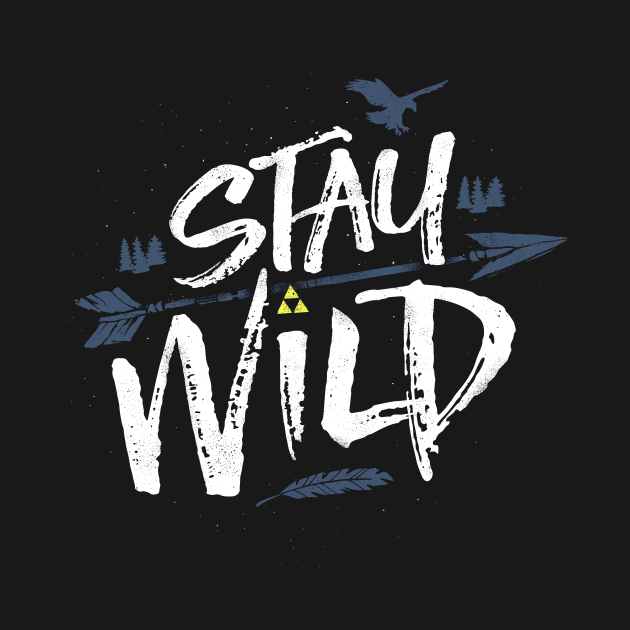 TeePublic: Open Your Eyes and Stay Wild