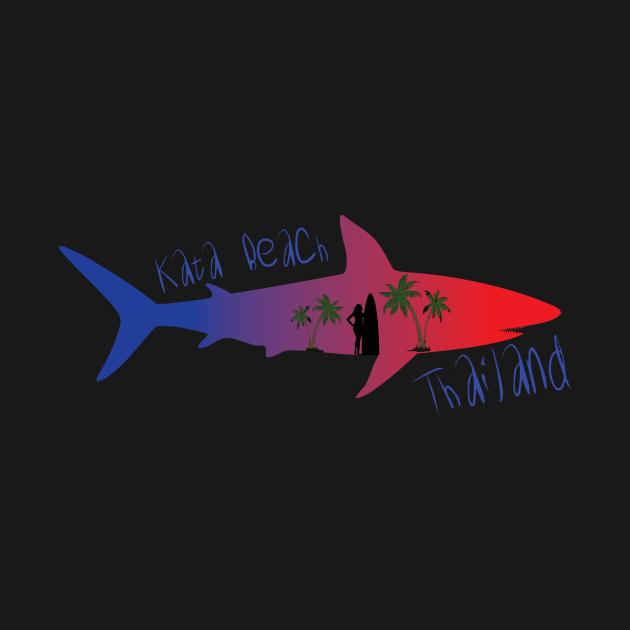 TeePublic: Kata Beach Thailand