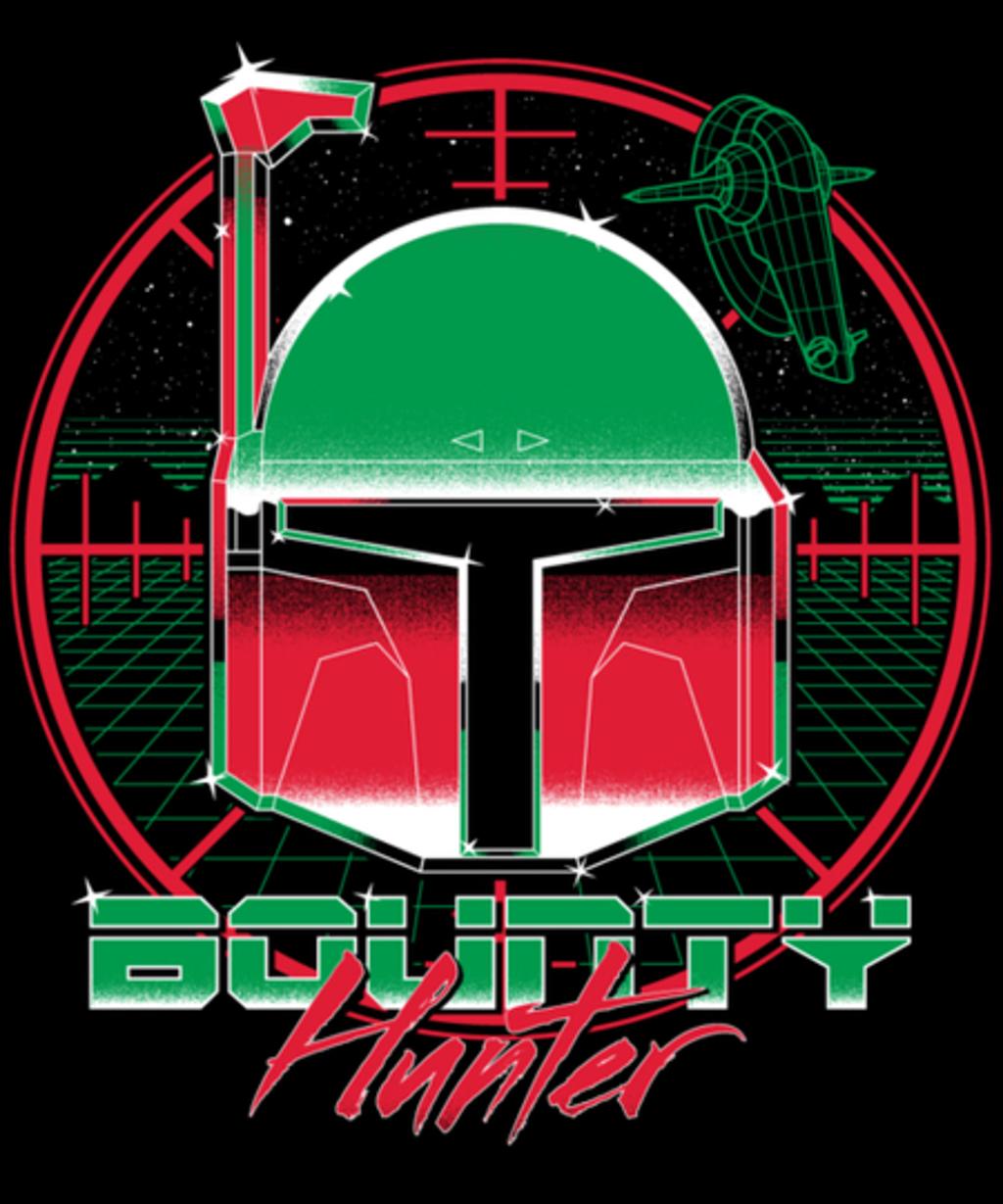 Qwertee: Bounty Hunter