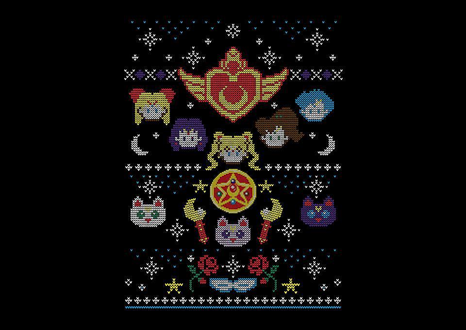 TeeFury: Merry Senshi