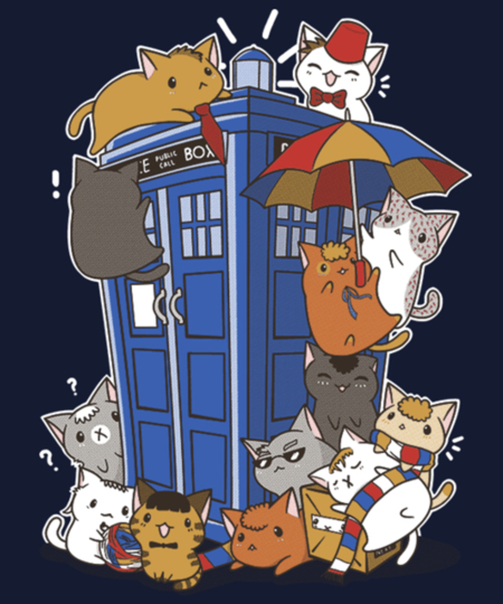 Qwertee: Kitten Who
