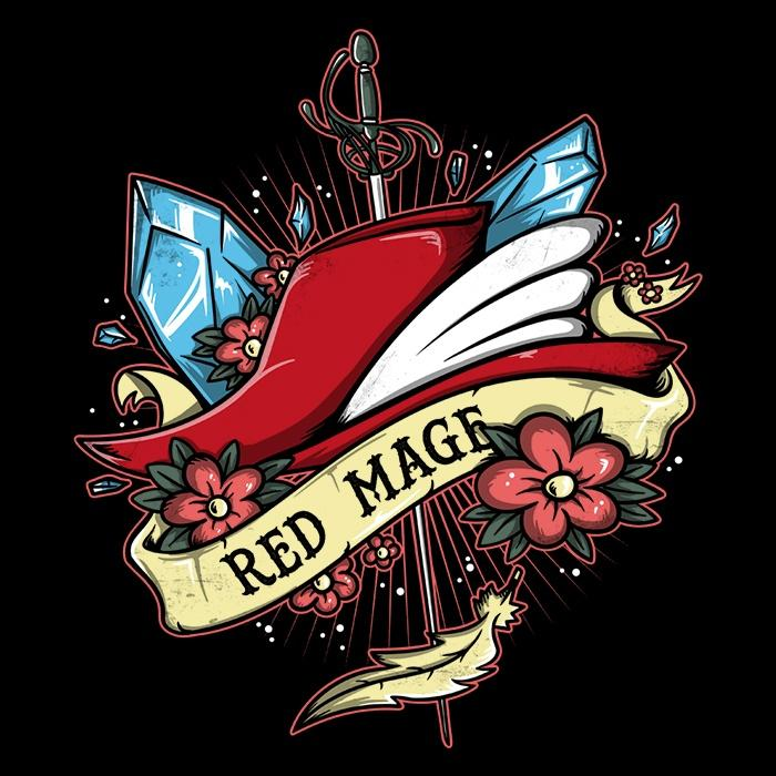 Once Upon a Tee: Red Magical Arts