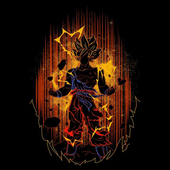 Once Upon a Tee: Shadow of the Saiyan