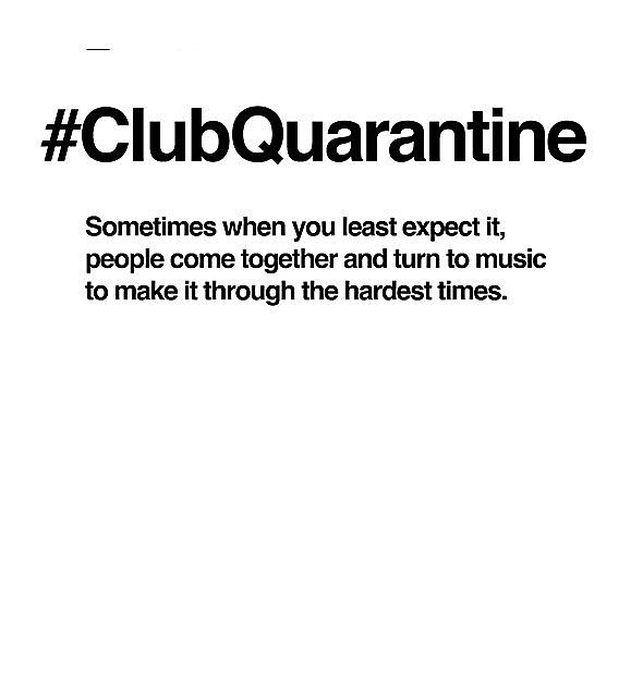 RedBubble: Gabriel & Dresden #ClubQuarantine Black Logo