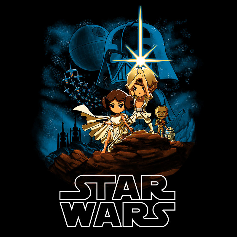 TeeTurtle: Star Wars: Episode IV - A New Hope
