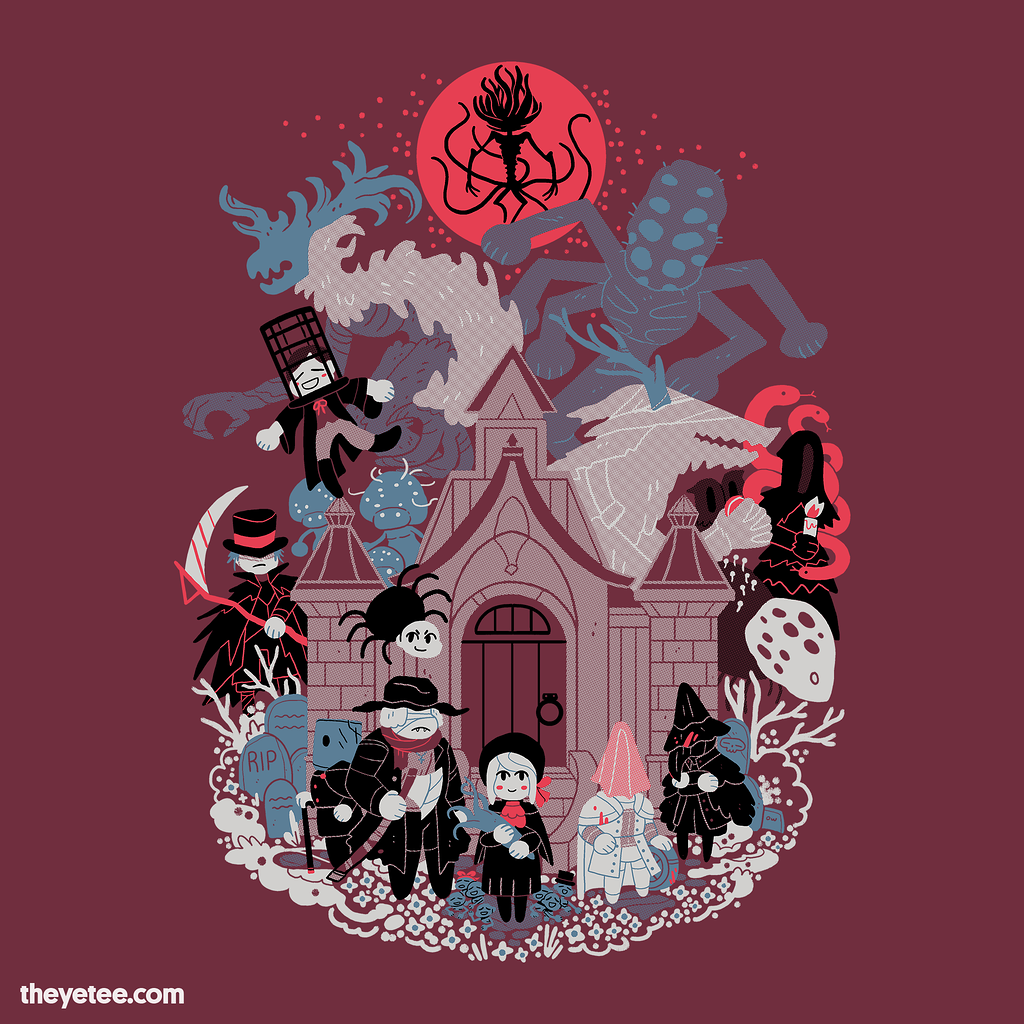 The Yetee: Beasts All Over the Shop